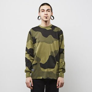 Koszulka Backyard Cartel Longsleeve Big Woodland khaki SS2017