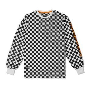 Koszulka Backyard Cartel Longsleeve Delete black  / white