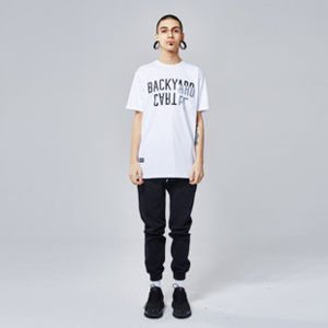 Koszulka Backyard Cartel Slant white SS2017