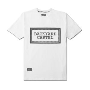 Koszulka Backyard Cartel T-Shirt Label Logo white