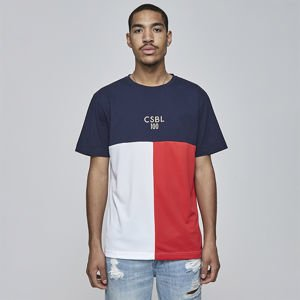 Koszulka Cayler & Sons BLACK LABEL CSBL 100 Tee navy / red