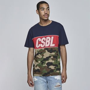 Koszulka Cayler & Sons BLACK LABEL CSBL Ante Up Tee navy / mc