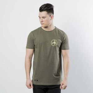 Koszulka Cayler & Sons Black Label Long Scallop Back Tee olive