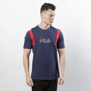 Koszulka Fila Shane Tee SS Man peacoat / high risk red