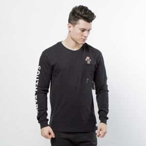 Koszulka Huf SP Mr Hanky Longsleeve Pcket black SOUTH PARK EDITION