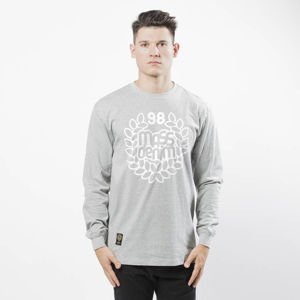 Koszulka Mass Denim Base Longsleeve light heather grey