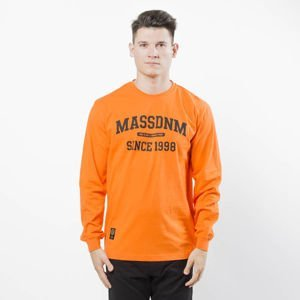Koszulka Mass Denim Campus Longsleeve orange