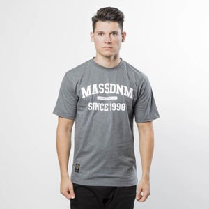 Koszulka Mass Denim Campus T-shirt dark heather grey
