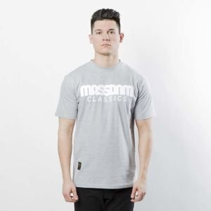Koszulka Mass Denim Classics T-shirt light heather grey