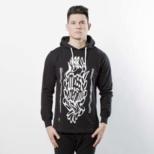 Koszulka Mass Denim Disruption Longsleeve Hoody black