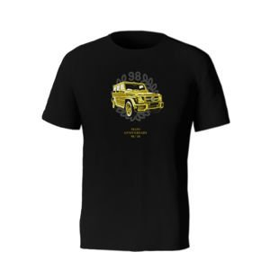 Koszulka Mass Denim Golden Car T-shirt black 20TH ANNIVERSARY