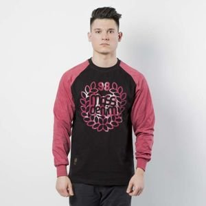 Koszulka Mass Denim Longsleeve Base Reglan black / heather claret