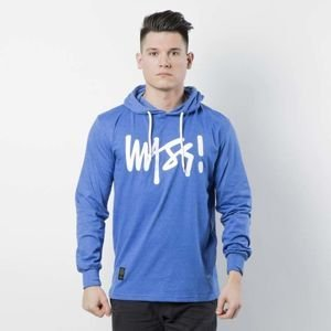 Koszulka Mass Denim Longsleeve Hoody Signature heather blue