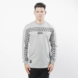 Koszulka Mass Denim Longsleeve Trail light heather grey