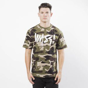 Koszulka Mass Denim Signature T-shirt woodland camo