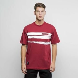 Koszulka Mass Denim T-shirt Traces claret