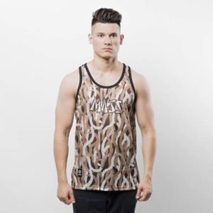Koszulka Mass Denim Tank Top Creep brown SS 2017