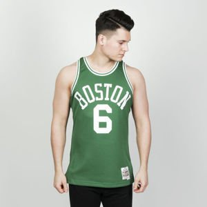 Koszulka Mitchell & Ness Boston Celtics #6 green Swingman Jersey