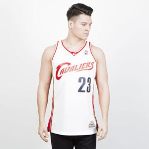 Koszulka Mitchell & Ness Cleveland Cavaliers #23 LeBron James white/red Swingman Jersey