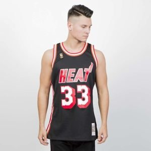 Koszulka Mitchell & Ness Miami Heat #33 Alonzo Mourning black Swingman Jersey