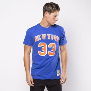 Koszulka Mitchell & Ness New York Knicks T-shirt royal Patrick Ewing Name & Number traditional