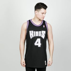 Koszulka Mitchell & Ness Sacramento Kings #4 Chris Webber black/purple Swingman Jersey