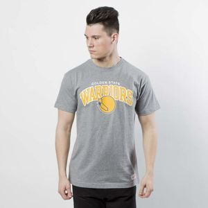 Koszulka Mitchell & Ness t-shirt Golden State Warriors grey Team Arch