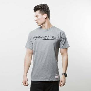 Koszulka Mitchell & Ness t-shirt Own Brand grey / black M&N Script Logo
