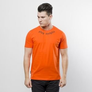 Koszulka PLNY T-shirt Neckline orange