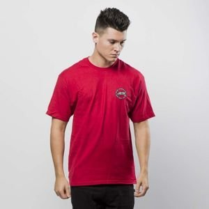 Koszulka Stussy International Dot Tee dark red FW17
