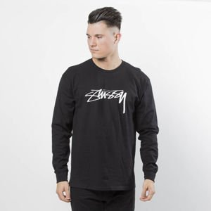 Koszulka Stussy Longsleeve Smooth Stock LS Tee black