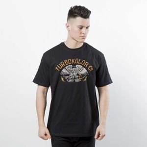 Koszulka Turbokolor T-Shirt Crest ST black