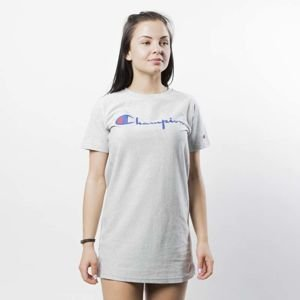 Koszulka damska Champion T-shirt Long Top WMNS heather grey 110045/F17/EM004