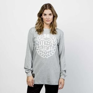 Koszulka damska Mass Denim Base Longsleeve light heather grey WMNS