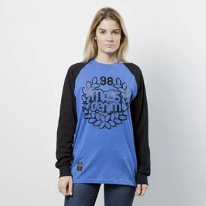 Koszulka damska Mass Denim Longsleeve Base Reglan WMNS heather blue / black