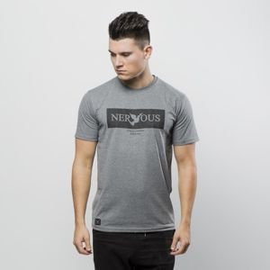 Koszulka t-shirt Nervous Brand Box gray
