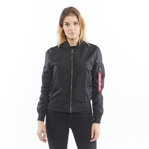 Kurtka Alpha Industries Bomber MA-1 TT IP Reversible black WMNS