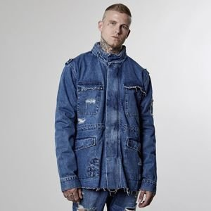 Kurtka Cayler & Sons All Day Denim Army Denim Jacket mid blue