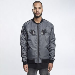 Kurtka Cayler & Sons Black Label First Division Souvenir Jacket dark grey / black