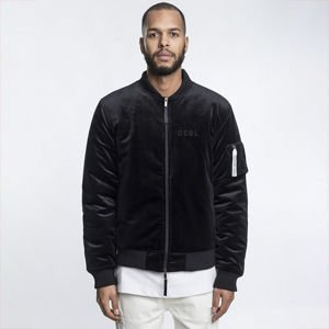 Kurtka Cayler & Sons Black Label Series Jacket black velour / white