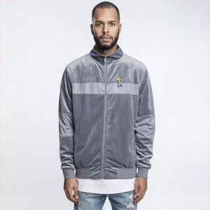 Kurtka Cayler & Sons White Label CHMPGN DRMS Track Jacket grey velour / multicolor