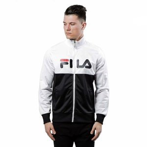Kurtka Fila Logan Track Jacket bright white / black