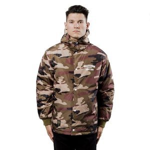 Kurtka Mass Denim Jacket Campus woodland camo