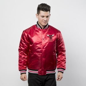 Kurtka Mitchell & Ness Chicago Bulls Jacket red NBA Satin Jacket