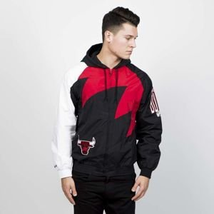 Kurtka Mitchell & Ness Chicago Bulls Shark Tooth Jacket black/red