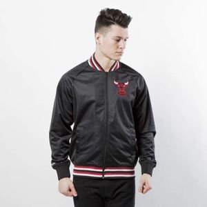 Kurtka Mitchell & Ness Chicago Bulls black NBA Top Prospect Jacket