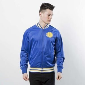 Kurtka Mitchell & Ness Golden State Warriors royal NBA Top Prospect Jacket