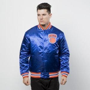Kurtka Mitchell & Ness New York Knicks Jacket royal NBA Satin Jacket
