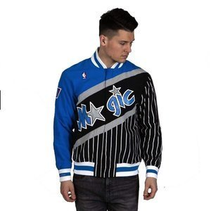 Kurtka Mitchell & Ness Orlando Magic royal/black NBA Authentic Warm Up Jacket