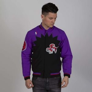 Kurtka Mitchell & Ness Toronto Raptors purple/black NBA Authentic Warm Up Jacket